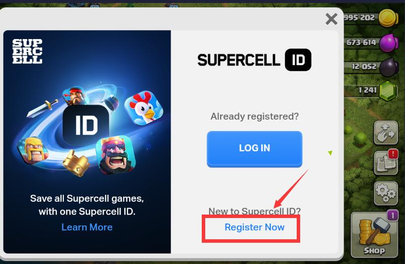 title With How Supercell Connect To Account Coc Id