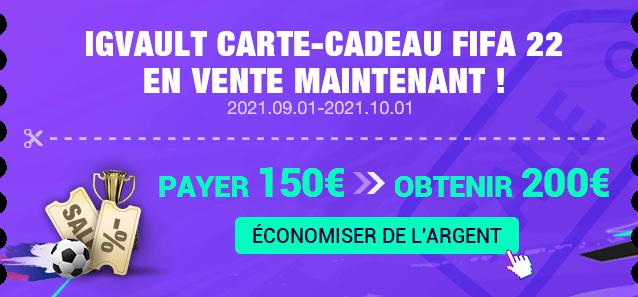 FIFA22 Cash Voucher
