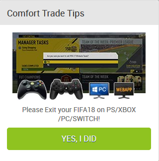 LOG OUT your FUT on Console,title