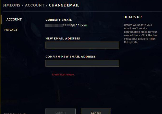 Lol Email Verifizieren